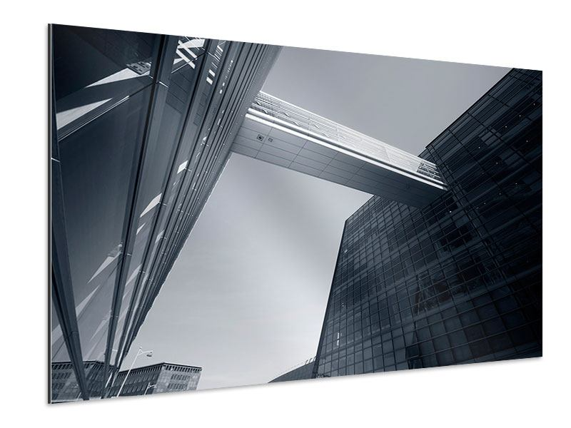 Aluminiumbild Der schwarze Diamant Kopenhagens