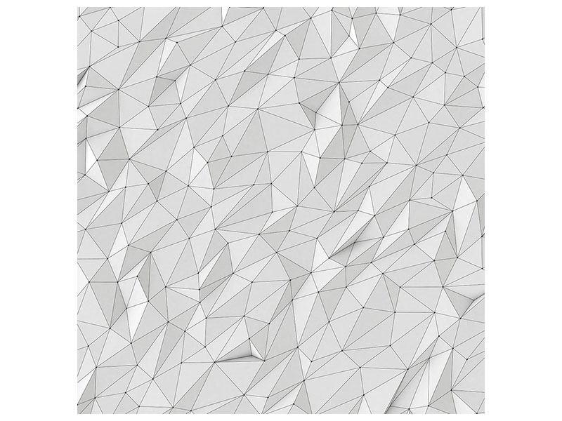 Aluminiumbild 3D-Geo