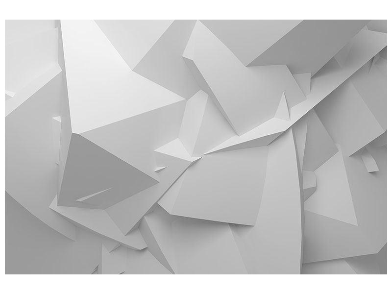 Aluminiumbild 3D-Raster