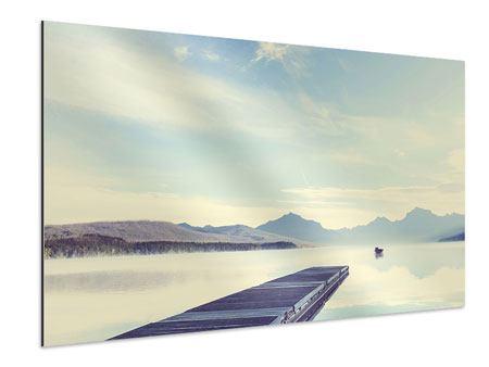 Aluminiumbild Bergromantik