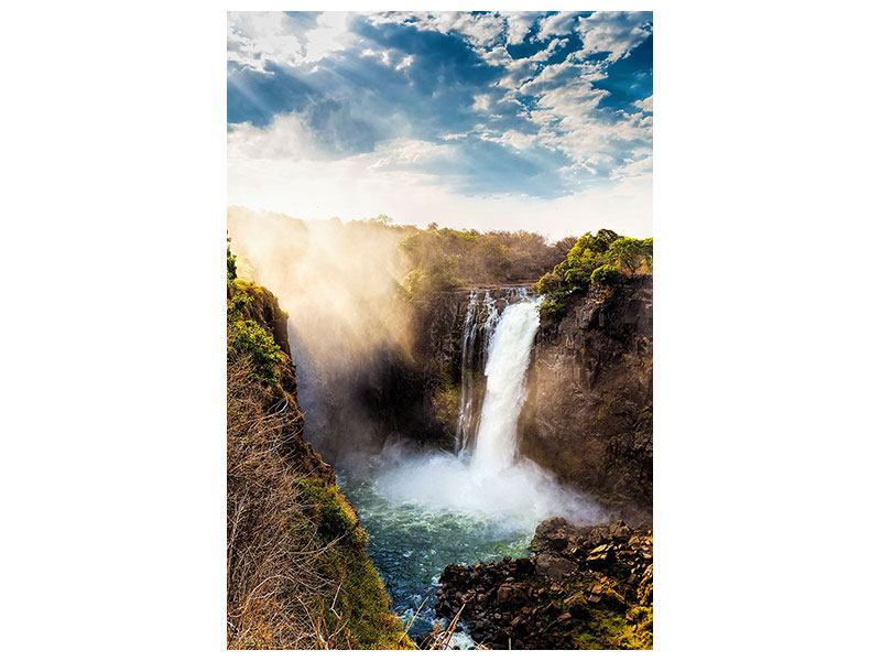 Aluminiumbild Victoria Falls
