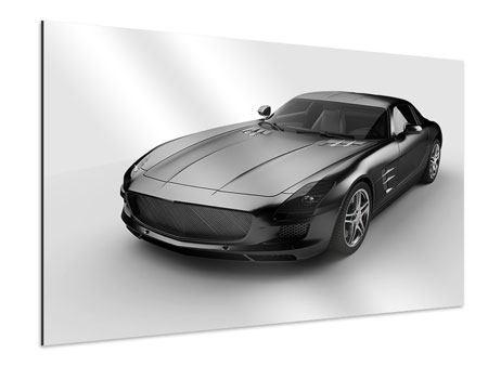 Aluminiumbild 007 Auto