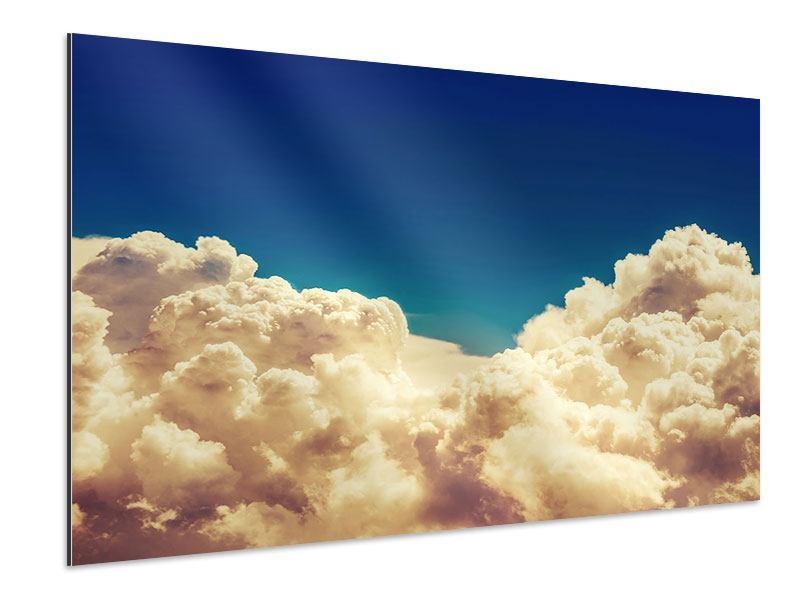 Aluminiumbild Himmelswolken