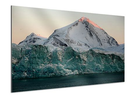 Aluminiumbild Die Antarktis