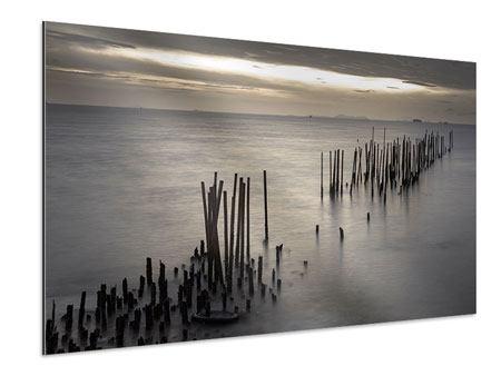 Aluminiumbild Das Meer und die Träne