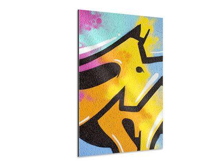 Aluminiumbild Graffiti Colour Your Life