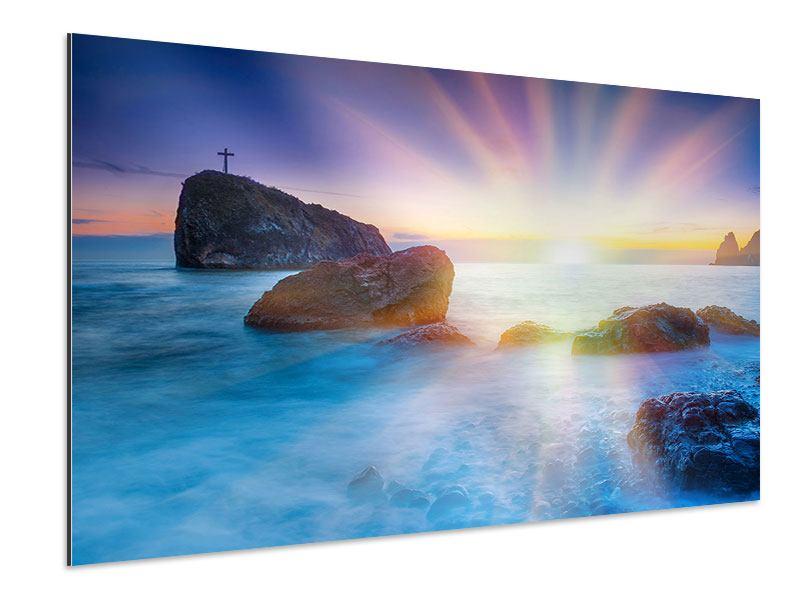 Aluminiumbild Mystisches Meer