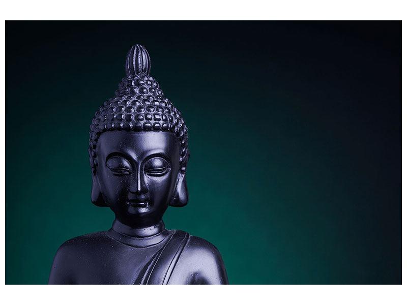 Aluminiumbild Die Weisheit des Buddhas