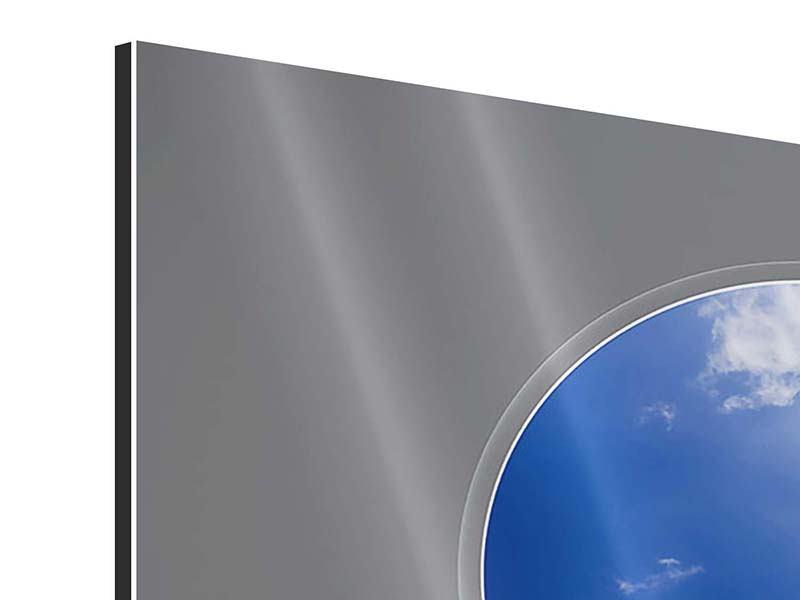 Aluminiumbild Himmelstreppe