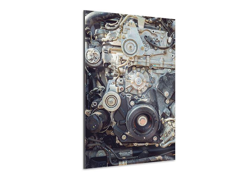Aluminiumbild Motor