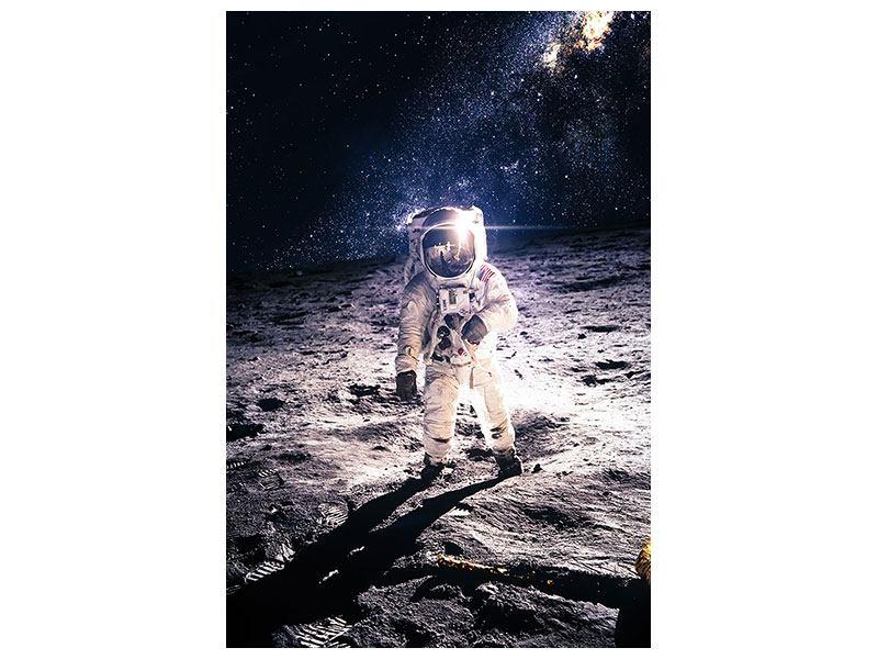 Aluminiumbild Der Astronaut