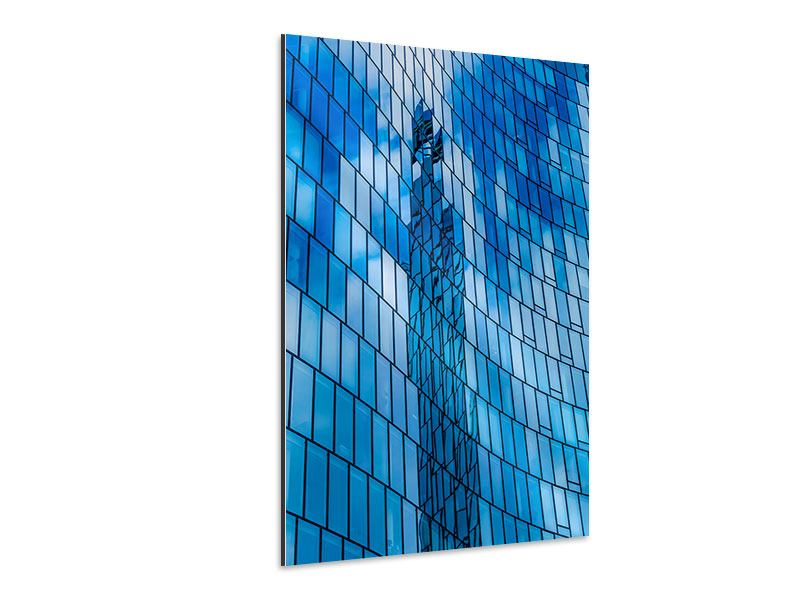 Aluminiumbild Glashaus