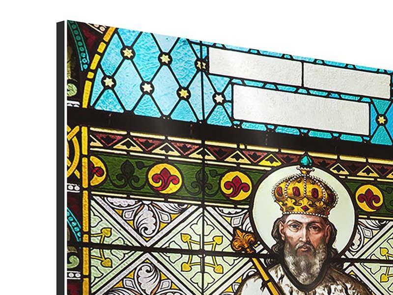 Aluminiumbild Hinterglasmalerei