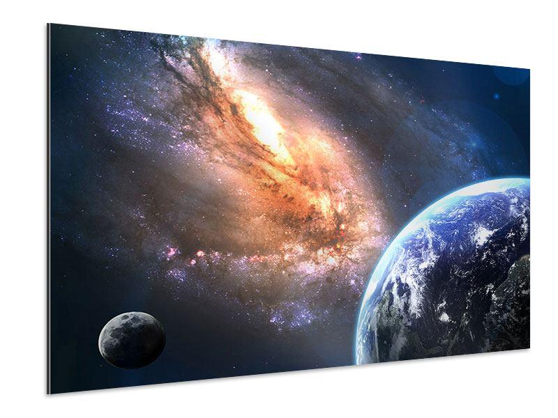 Aluminiumbild Universus