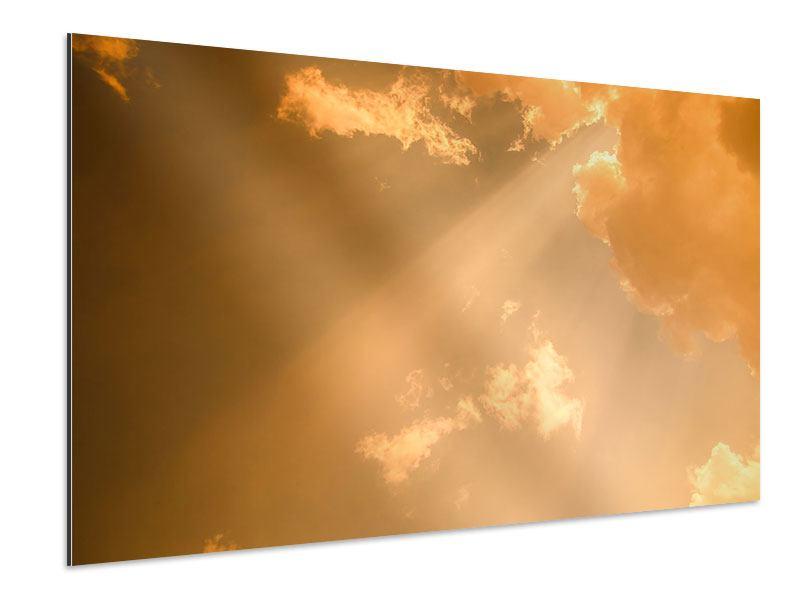 Aluminiumbild Abendhimmel