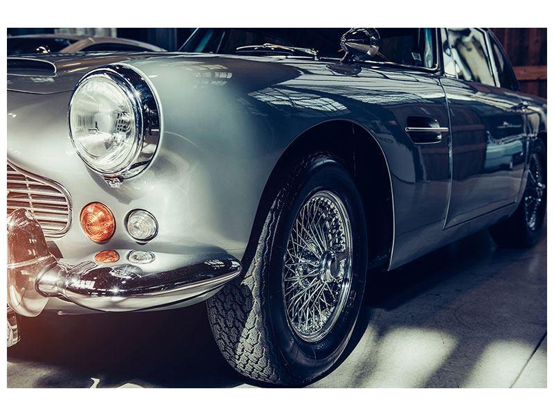 Aluminiumbild Classic Car
