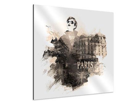 Aluminiumbild Pariser Modell