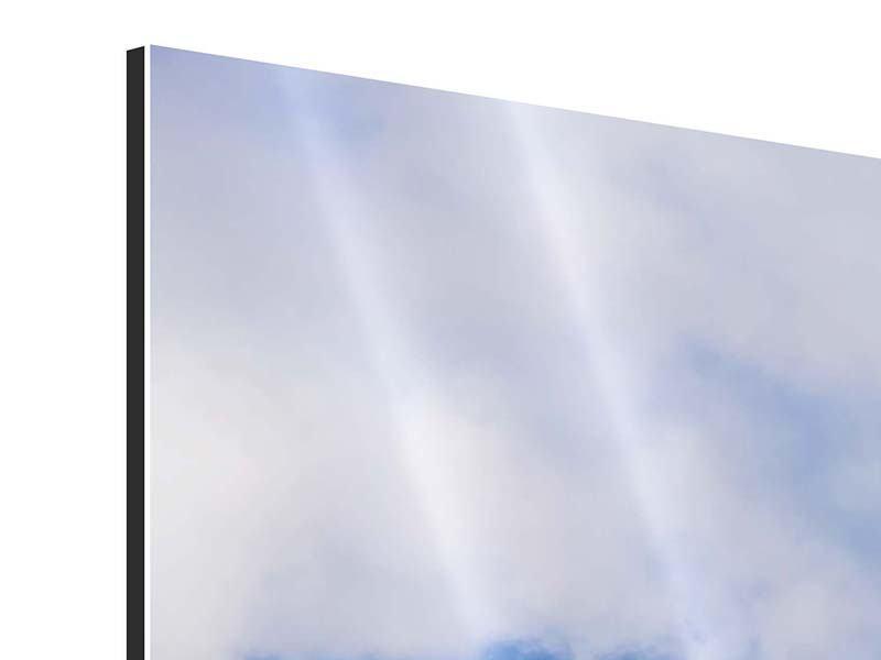 Aluminiumbild Der stille Berg