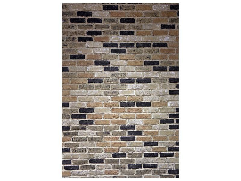 Aluminiumbild Backsteinmauer