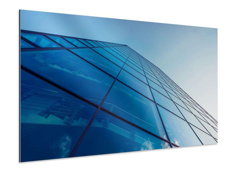 Aluminiumbild Wolkenkratzer-Highlight