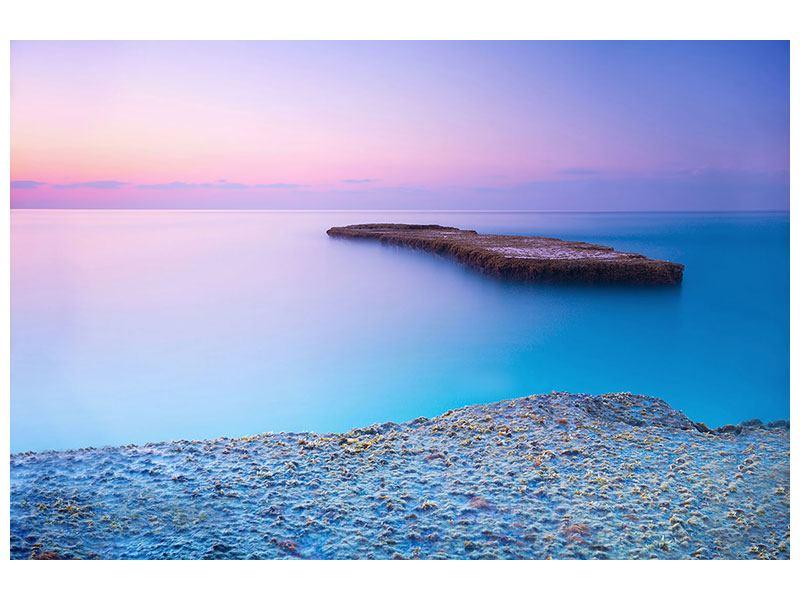 Aluminiumbild Unendlicher Ozean