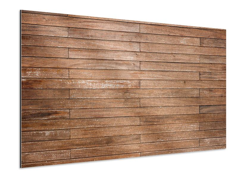 aluminiumbild walnuss paneele jetzt online bestellen. Black Bedroom Furniture Sets. Home Design Ideas