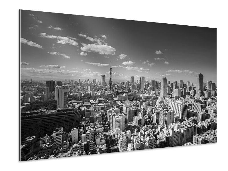 Aluminiumbild Tokio