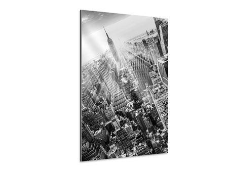 Aluminiumbild Wolkenkratzer New York