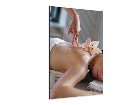 Aluminiumbild Spa Massage