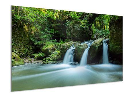 Aluminiumbild Fallendes Wasser