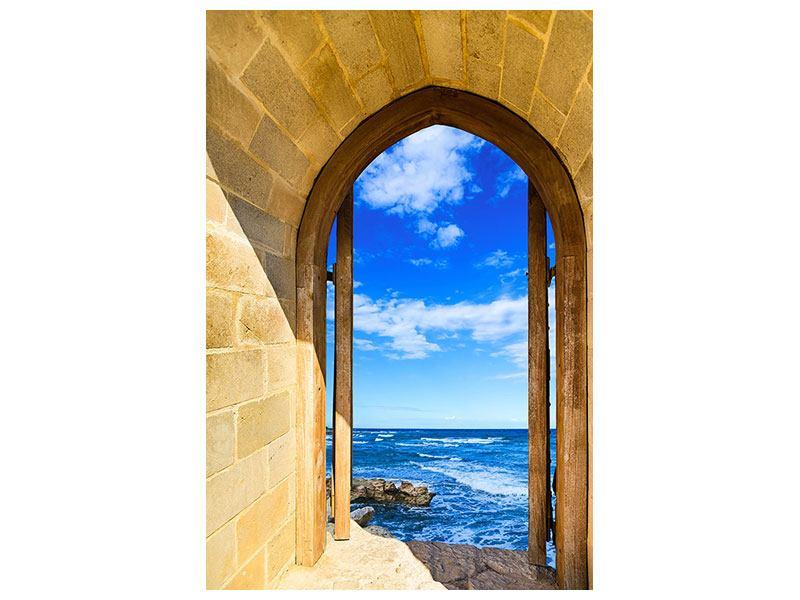 Aluminiumbild Das Tor zum Meer