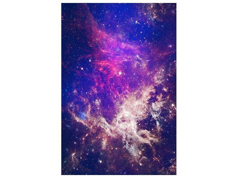 Aluminiumbild Das Universum