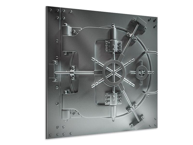 Aluminiumbild Tresor