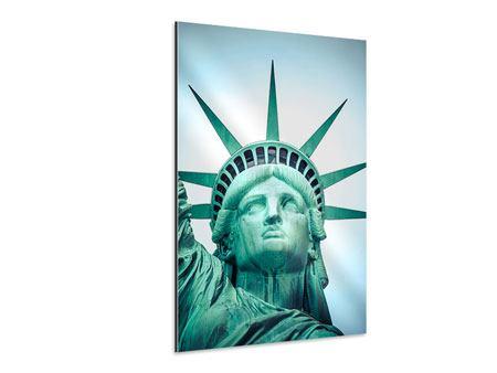 Aluminiumbild Statue of Liberty