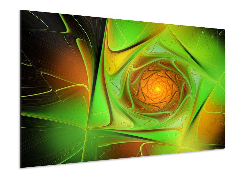 Aluminiumbild Abstraktionen