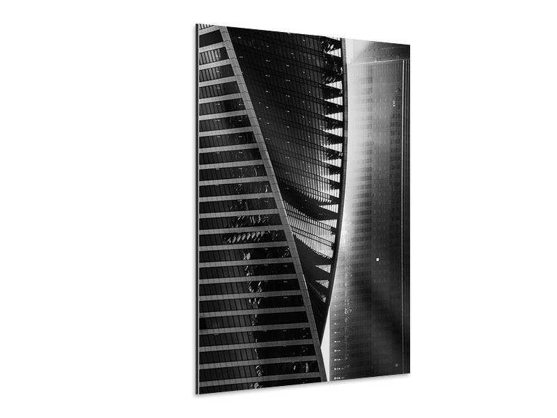 Aluminiumbild Skyscraper