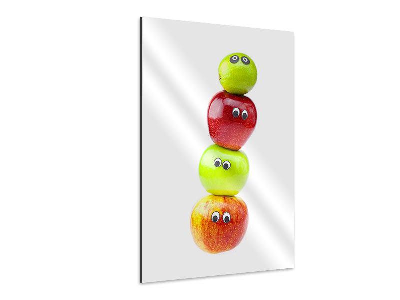Aluminiumbild Lustiges Obst