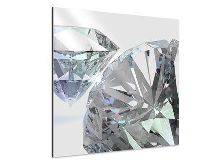 Aluminiumbild XXL Diamant