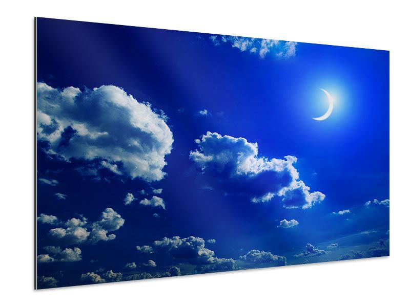 Aluminiumbild Der Mond