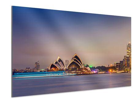 Aluminiumbild Opera House