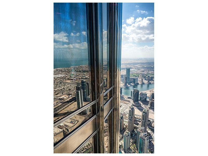 Aluminiumbild Penthaus in Dubai