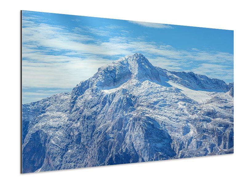 Aluminiumbild Friedliche Bergstimmung