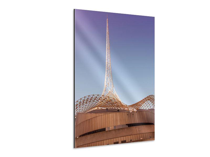 Aluminiumbild Arts Centre Melbourne