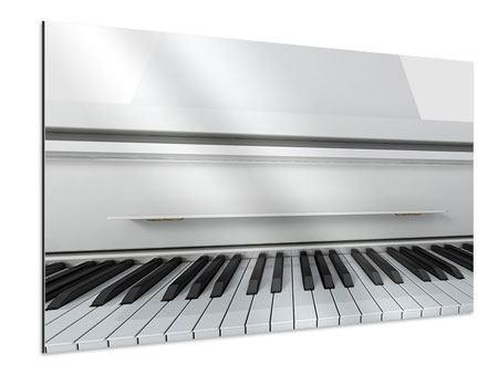 Aluminiumbild Weisser Flügel