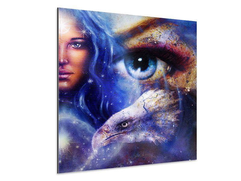 Aluminiumbild Eyecatcher
