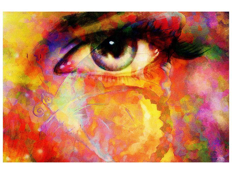 Aluminiumbild Das Auge
