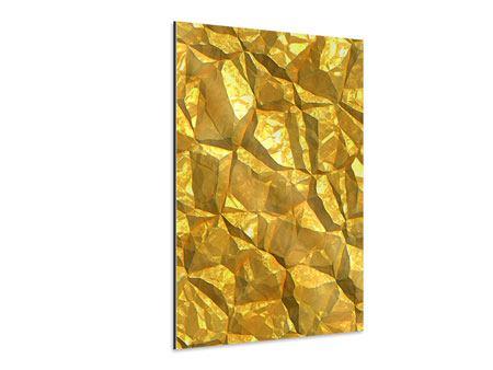 Aluminiumbild Gold