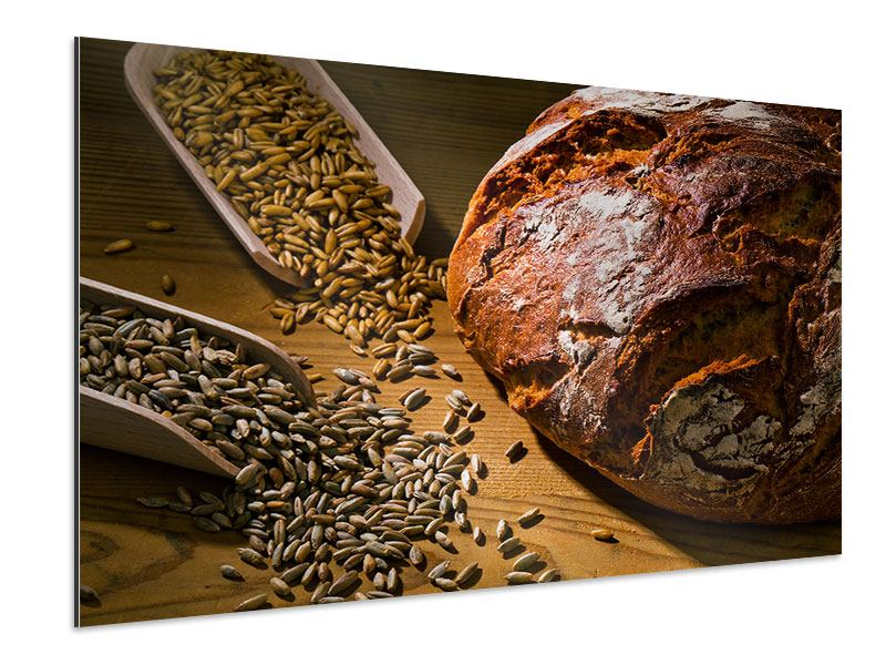 Aluminiumbild Das Brot