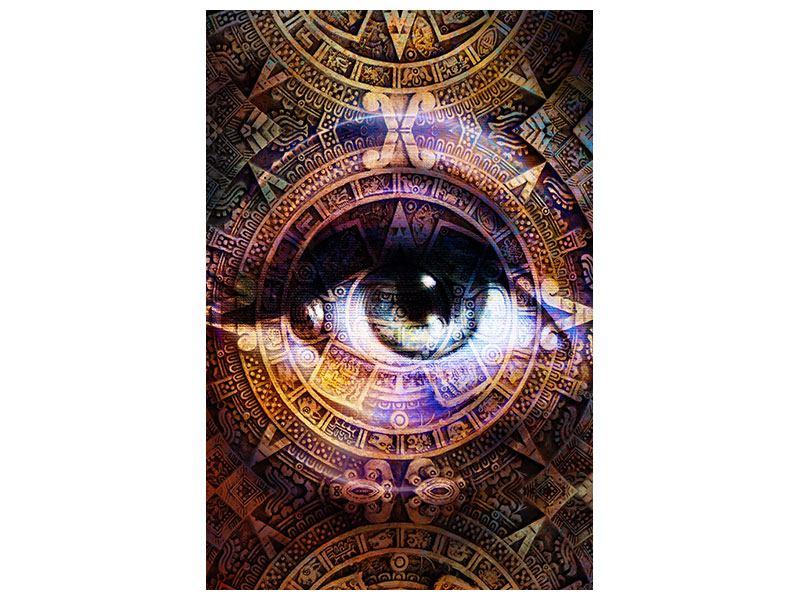 Aluminiumbild Psychedelic Eye