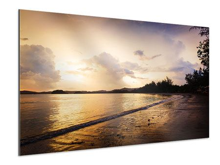 Aluminiumbild Das Ufer